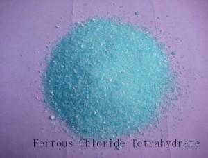 CAS NUMBER 7758-94-3 FERROUS CHLORIDE TETRAHYDRATE