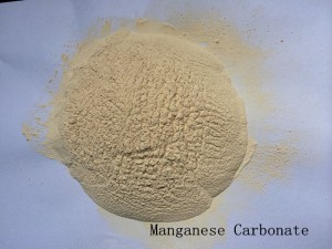 CAS NUMBER 598-62-9 MANGANESE CARBONATE